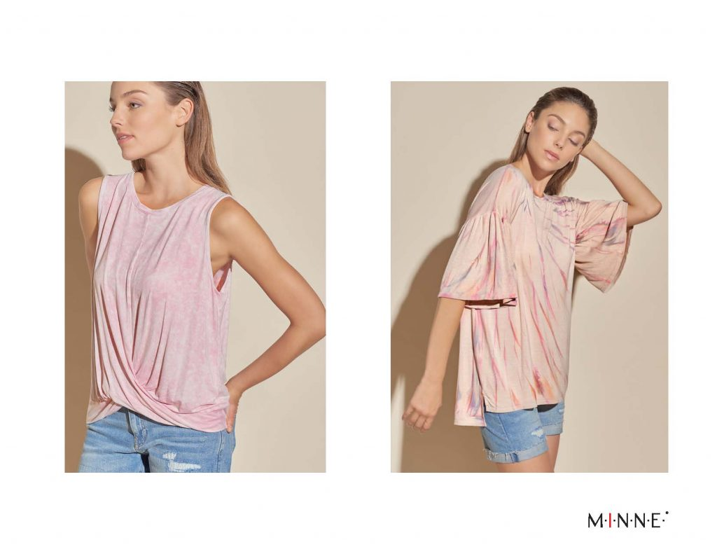 m-i-n-n-e-spring-18-lookbook-twist front sleeveless and bell sleeve top